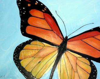Butterfly Wonder Giclée Art Print