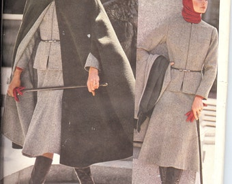 "Vogue  1160  Misses' Jacket, Cape, Skirt, Pants, and Blouse ""Americana Label""  included      ID246"