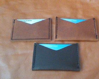 Leather Handmade Card Holder