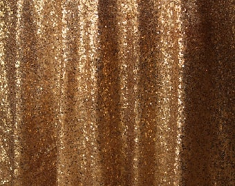 """Free Shipping, Vintage Gold Sequin Tablecloth, 90x132"""", 90x156"""", 120"""". Round Sequin Tablecloth, Gold Sequin Linen, Glitz Sequin Tablecloth"""