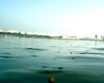 Where You Are. Galveston, Texas. 2011. Beach photography. Ocean photography. Groundview. Wall art. Fine art photography.