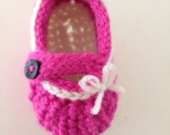Mary Jane Baby Loafers
