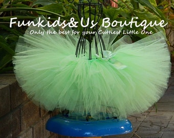 Baby light Green Tutu-Baby Tutu Skirts- Baby Tutu- Photo Prop- Available In Size 0-24 Months-ready to ship