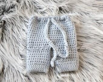 Pattern - Crochet Baby Pants Pattern