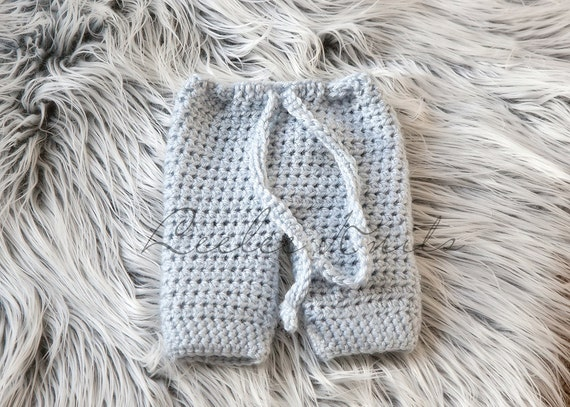 Pattern - Crochet Baby Pants Pattern