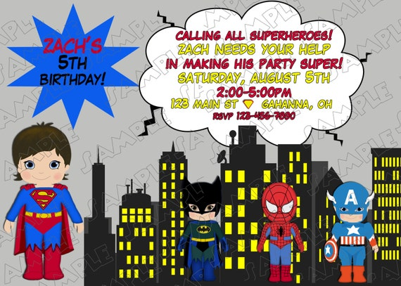 www uprint com templates - superman superhero inspired justice league birthday party