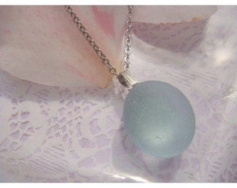 BEACHIST-Sea Glass Necklace,Beach Glass Necklace,Sea Glass