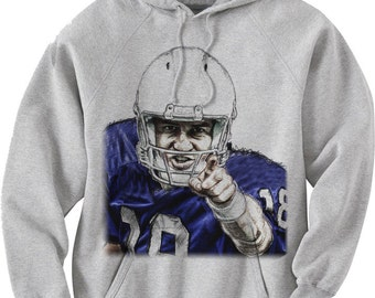 Peyton Manning Officially Licensed NFLPA Indianapolis Hoodie Manning Audible B