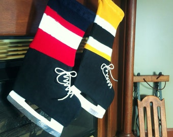 Hockey Fan Christmas Stocking