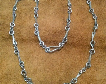 Forged Small Link Necklace