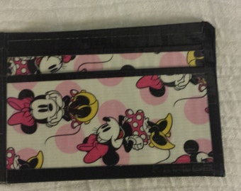 Minnie Mouse Front Pocket Duck Tape Wallet Disney