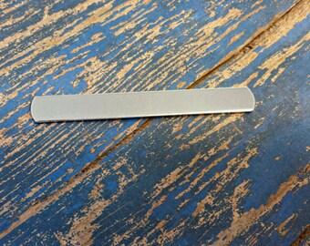 """3/8"""" x 3 1/4"""" Aluminum Ring blanks- Aluminum Cuff 16 Gauge"""