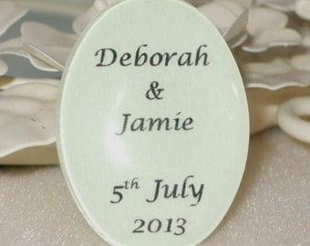 Custom Made, Personalised Glass Cabochon