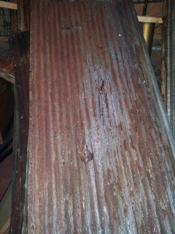 Primitive Birdhouse Rusty Tin Sheet Metal By