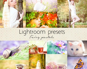 Lightroom presets: Fairy pastels