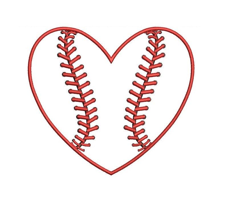 heart baseball applique machine embroidery digitized design split soccer ball clipart black and white Basketball Clip Art