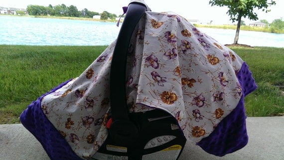 Girly Car Seat Covers: Items Similar To Floral Car Seat Cover