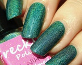 It's Not Fir 5ml (Autumn Dreams Collection) Linear Holographic Cruetly Free Handmade Nail Polish