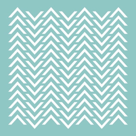 12 quot x 12 quot chevron pattern template stencil for use on scrapbook and
