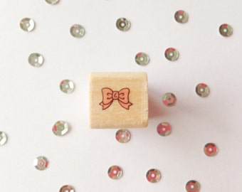 Square Stamp bow, 1, 5 cm wide, 1, 5 cm long