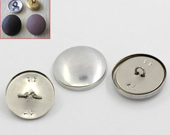 "5 Wire Back Cover Buttons, size 45, 1 1/8"" (28mm)"