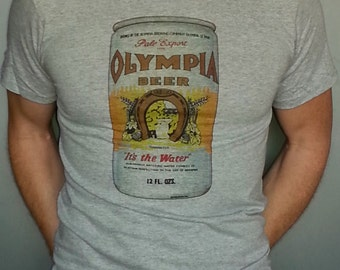 olympia beer etsy. Black Bedroom Furniture Sets. Home Design Ideas