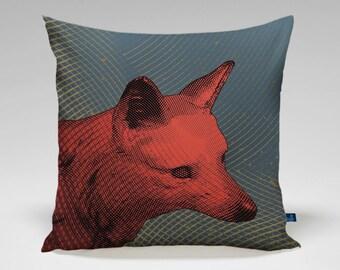 """Fox Pillow 18"""" x 18"""""""