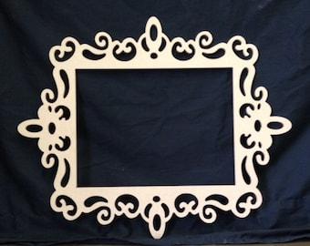 Unfinished Wooden Frame- Lorraine