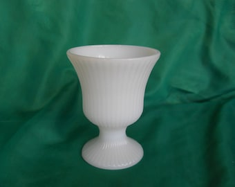 E O Brody milk glass planter M7000