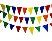 Pennant Garland, Party Garland, Birthday Party Decor, Custom Party Decor, Custom Photo Prop, Custom Photo Backdrop, Design Your Own Banner - PartyGarnish