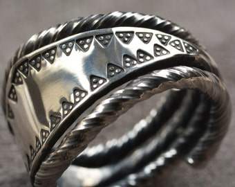viking silver ring from Gotland