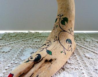 conversation starter, conversation piece,driftwood, driftwood art, feng shui art, feng shui decor, office art, paper weight