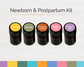 Newborn & Postpartum Essential Oil Kit