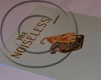 Noiseless Typewriter Water Slide Decal - THE TIGER!