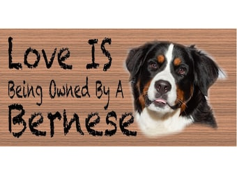 Bernese Wood Signs - Bernese GS428