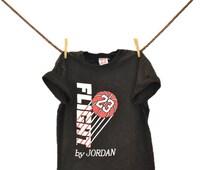 Vintage t shirt hipster tshirt Jordan Flight T-shirt 23 90s grunge 80s basketball shirt black IndieClothCo