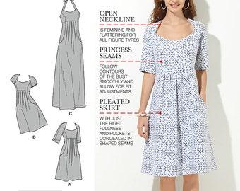 Simplicity Pattern 1800 Misses'/ Women's Dress in Two Lengths