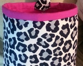 SALE** 20% off through 12/14/16** Pink Cheetah Car Trash Bag Holder