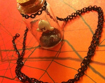 Ghost in a Jar Necklace