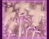 40 chocolate cross lollipops