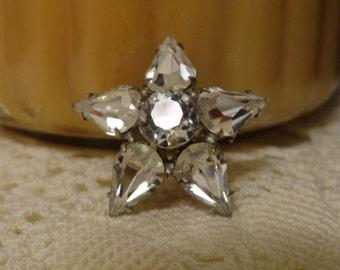 Vintage Retro Star Brooch