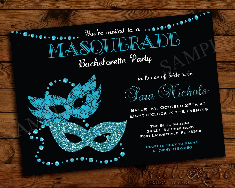 Masquerade Ball Invitations as beautiful invitations example