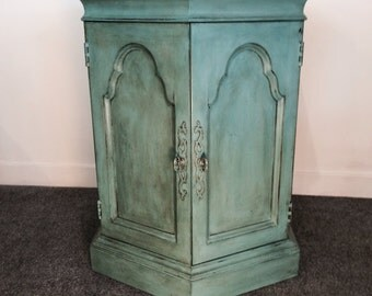 SYBIL / painted cabinet / side table / furniture