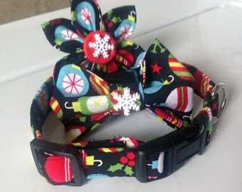 Christmas Ornament Cat or Dog Collar