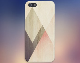 Geometric Accents Light Wood Case, iPhone 7, iPhone 7 Plus, Protective iPhone Case, Galaxy s8, Samsung Galaxy Case Note 5, CASE ESCAPE