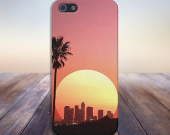 Sunset over Los Angeles Case for iPhone 6 6 Plus iPhone 7  Samsung Galaxy s8 edge s6 and Note 5  S8 Plus Phone Case, Google Pixel