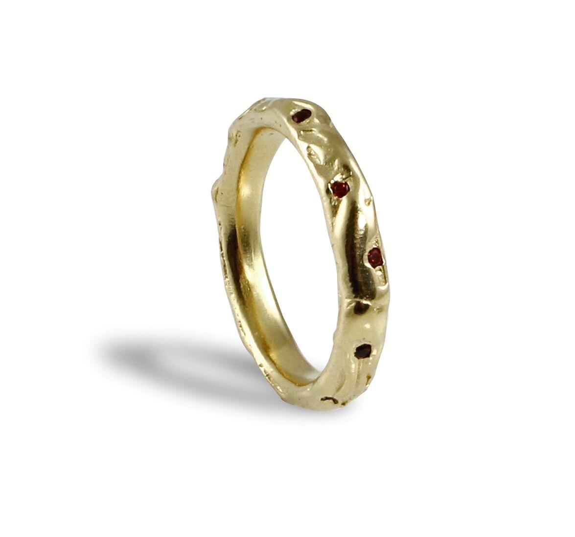 Natural Wedding Rings 027 - Natural Wedding Rings