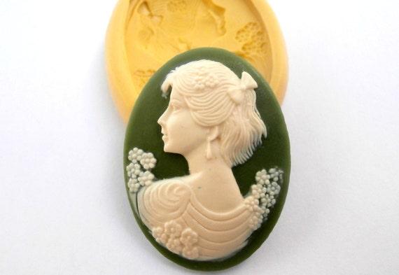 Victorian Woman Cake Mold