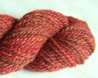 wool yarn OLD BRICK 3,4 oz 100 yards 23 mc / 97g 91m