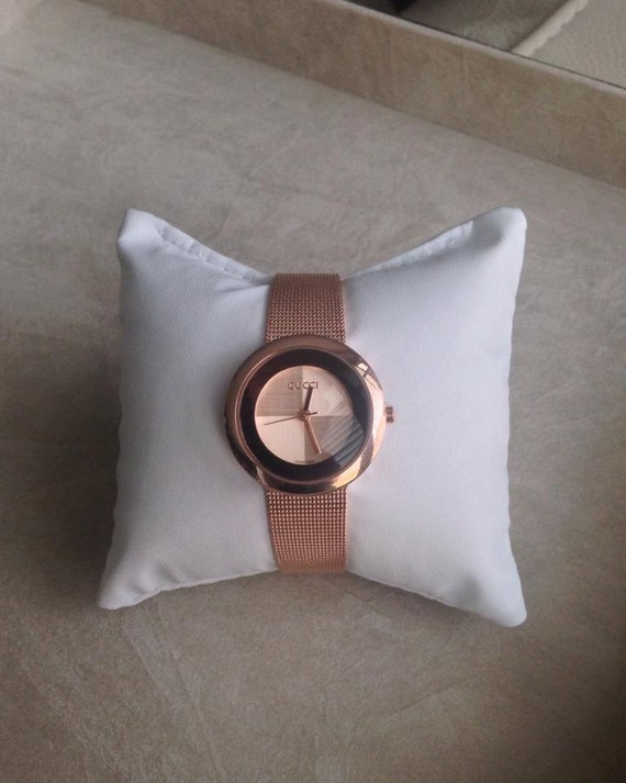 Gucci Rose Gold Ladies Watch Sale Vintage Gucci Rose Gold